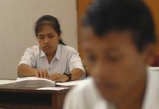 WENIG QUALIFIZIERTESTER ABSOLVENT INDONESIENS Lizenzfreie Stockfotos