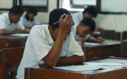 WENIG QUALIFIZIERTESTER ABSOLVENT INDONESIENS Lizenzfreies Stockbild