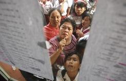 WENIG QUALIFIZIERTESTER ABSOLVENT INDONESIENS Lizenzfreie Stockfotografie