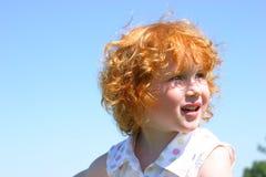 Wenig Redhead Lizenzfreie Stockfotos