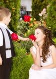 Wenig Romance lizenzfreies stockfoto