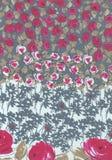 Wenig rosa und weiße Blumen für Hintergrund Stockfotografie