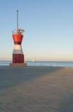Wenig roter Leuchtturm Lizenzfreies Stockfoto