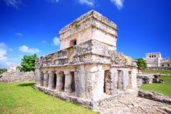 Wenig ruinieren Tulum Lizenzfreies Stockfoto