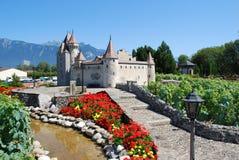 Wenig Schloss Stockfotos