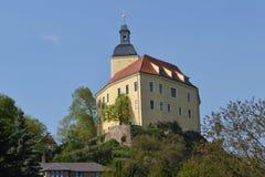 Wenig Schloss im Eatern-Teil von Deutschland Stockbild