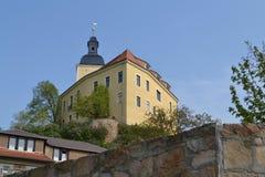 Wenig Schloss im Eatern-Teil von Deutschland Lizenzfreies Stockfoto