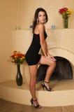 Wenig schwarzes Kleid Lizenzfreie Stockfotos