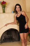 Wenig schwarzes Kleid Stockfoto