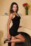 Wenig schwarzes Kleid Lizenzfreie Stockfotografie