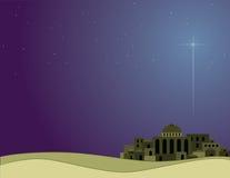 Wenig Stadt von Bethlehem Lizenzfreies Stockbild