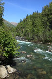 Wenig Susitna-Fluss Lizenzfreies Stockbild
