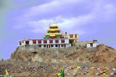 Wenig Tibet Stadt Lech Stockbilder