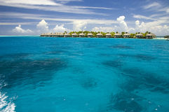 Wenig tropische Insel Stockfotos