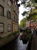Wenig Venedig in Colmar lizenzfreies stockfoto