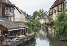 Wenig Venedig in Colmar Lizenzfreie Stockfotos