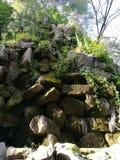 Wenig Wasserfall Katalonien Lizenzfreie Stockbilder