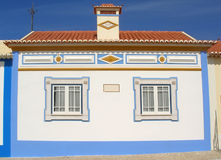 Wenig weißes Haus Stockfotos