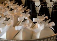Wenig weißes Kleid Stockbild