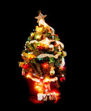 wenig Weihnachtsbaum Stockfoto