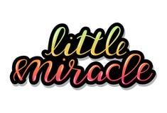 Wenig Wunder, Baby, das Zitat beschriftet lizenzfreie abbildung