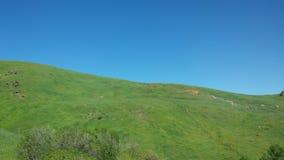Wenig Zaun auf dem Berg Lizenzfreies Stockbild