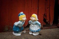 Wenige niederländische Paare Lizenzfreie Stockfotografie