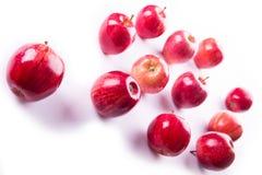 Wenige rote Äpfel lizenzfreies stockfoto