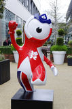 Wenlock mascot Stock Photo
