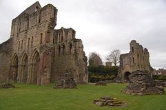 Wenlock Priory and ruins Royalty Free Stock Photography