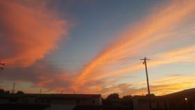 Wenn der Himmel ein Segeltuch ist lizenzfreies stockbild