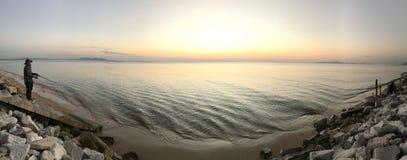 Wenn ich das Meer sehe lizenzfreie stockfotos
