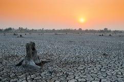 Wenn unsere Weltwasserknappheit Stockbild
