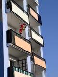 Wenn Weihnachtsmann kommt Lizenzfreie Stockbilder