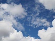Wenn Wolken und Himmel nein vereinigen 1 lizenzfreie stockfotos