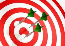 Wenn Ziel Sie vermeidet! Lizenzfreie Stockfotografie