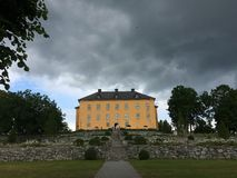 Wenngarn. Castle outside Sigtuna in Sweden Royalty Free Stock Photos