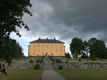 Wenngarn. Castle outside Stockholm Royalty Free Stock Images