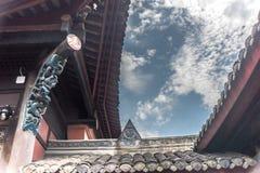 Wenshu修道院,成都,中国 免版税库存图片