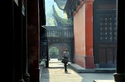 wenshu виска фарфора chengdu стоковая фотография