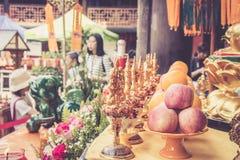 Wenshu-Kloster, Chengdu, China Stockbilder