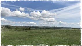Wensleydale Йоркшир Стоковое Фото