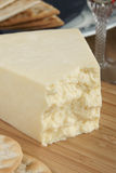 Wensleydale-Käse Lizenzfreies Stockfoto