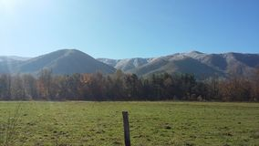 Beautiful mountains 3 stock image