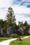 Wental, Felsenmeer w Szwabskiej albie, Baden-WÃ ¼ rttemberg, Niemcy Obraz Stock