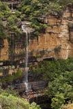 Wentworth cai montanhas azuis Austrália Foto de Stock Royalty Free