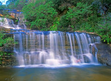 Wentworth Falls. Waterfall in Blue Mountains, Australia near Sydney Stock Images