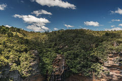 Wentworth Falls fotografie stock