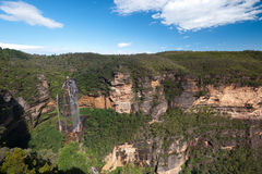 Wentworth Falls, Blue Mountains - Australia Stock Photo