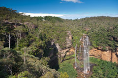 Wentworth Falls, Blue Mountains - Australia Royalty Free Stock Photos